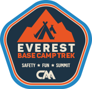 Everest Base Camp trekking badge