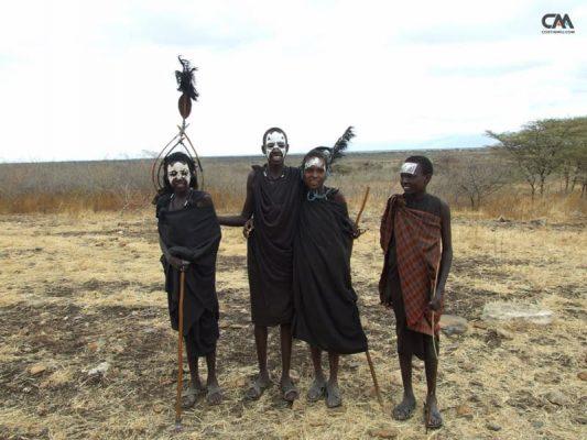 populație locală în tanzania