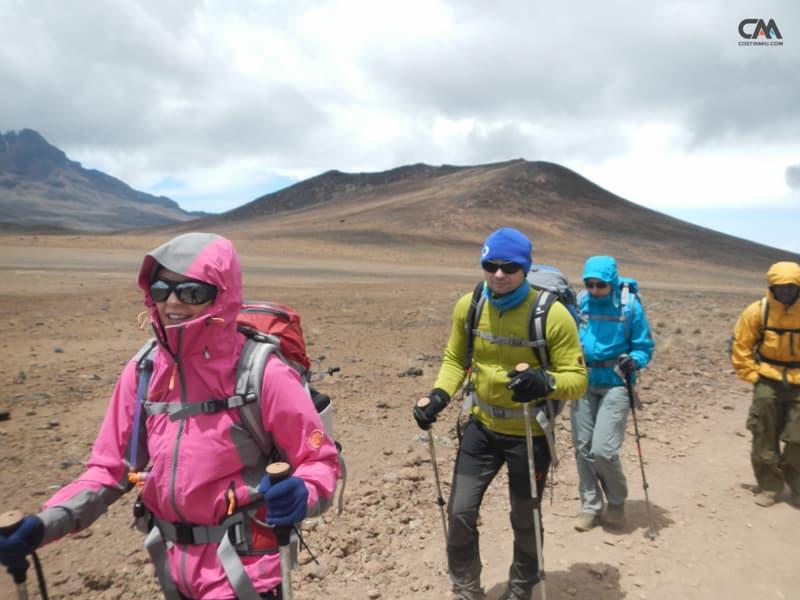 deșertul alpin, kilimanjaro