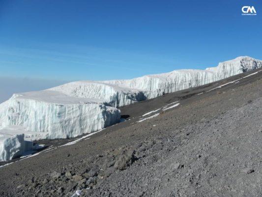 ghețarii de pe kilimanjaro