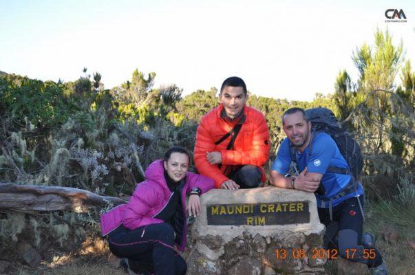 maundi crater, 2800m, kilimanjaro