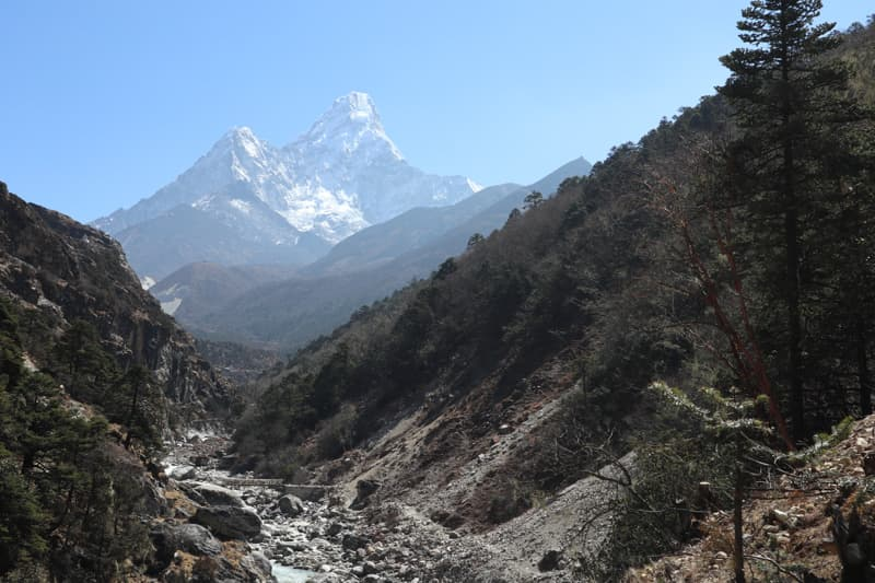 Ama Dablam, Everest Base Camp Trekking.