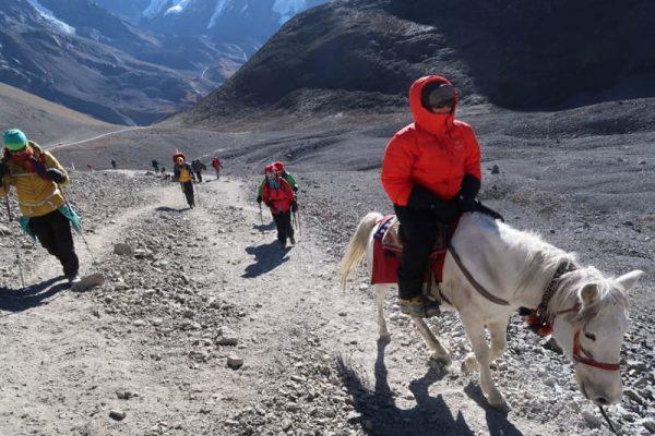 Trecătoarea Thorung La, Annapurna Circuit.