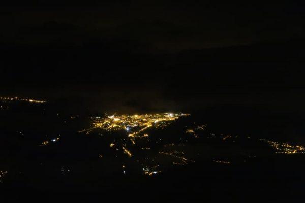 Chamonix noaptea.