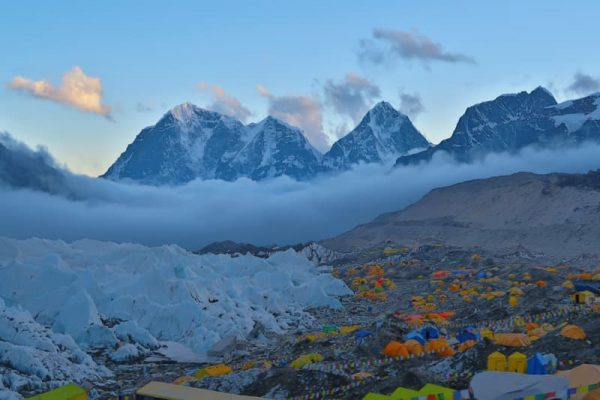 EBC, final de Everest Base Camp trekking