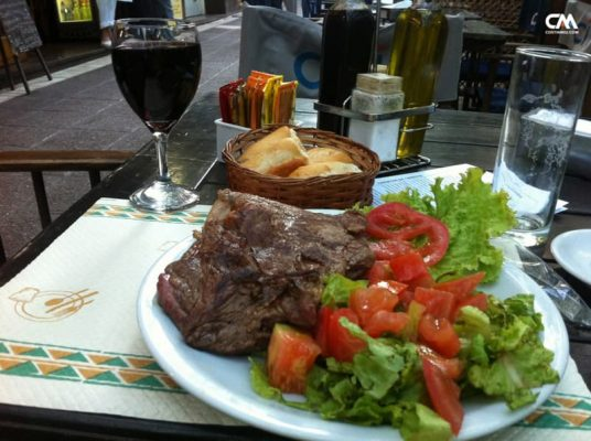 bife de chorizo, mendoza, argentina