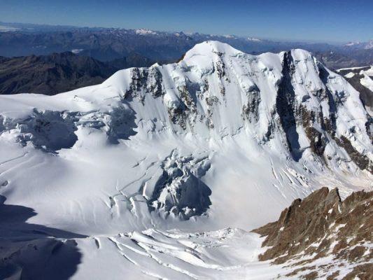 creasta liskamm, alpi, elveția