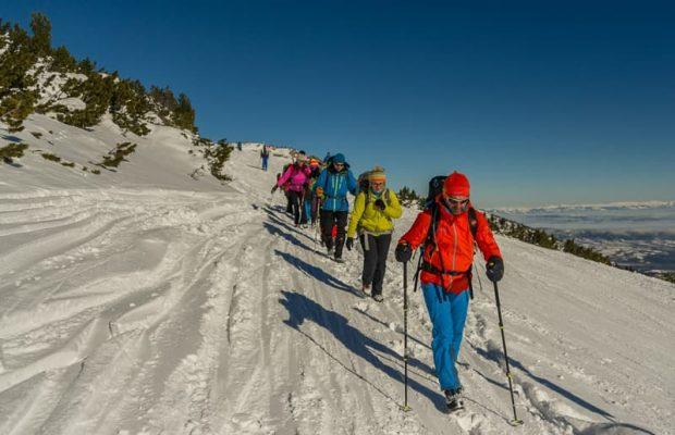 alpiniști în bulgaria, musala