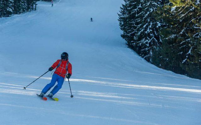 costin miu la schi, borovets, bulgaria